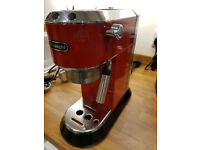 DeLonghi Dedica EC680 Coffee Maker - Red