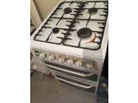 Cannon gas cooker (4 burners and 2 ovens)