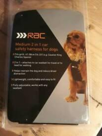 Dog car harness. Brand New