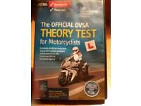 Motor bike theory test DVD