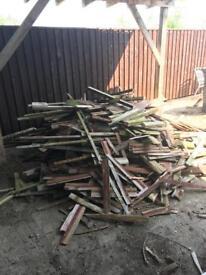 Free wood all chopped up