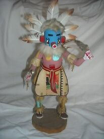 Hopi native indian kachina doll collectible rare museum quality