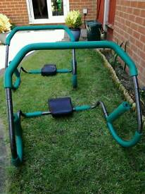 2 x Sit up roller trainers