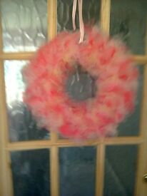 Beautiful handmade decorative wreath