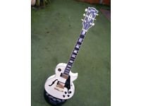 Gibson Memphis Alex Lifeson Signature ES Les Paul Custom Limited Run Alpine White RARE only 200 made