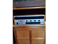 Vintage LEAK music centre for sale, with LEAK and SOLAVOX speakers