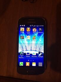 Samsung galaxy ace 4 black on o2