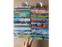 DVD's 50 Assorted kids movies