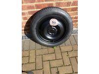 spacesaver car spare wheel
