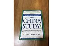 The China Study Diet Book (world renowned) for sale