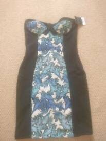 TOPSHOP PETITE dress new with tags rrp 42