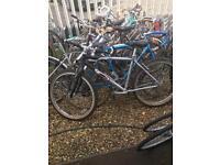 Men's and ladies mountain bikes ready to ride £45