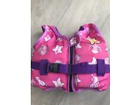 Pink swim jacket