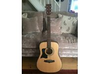 Tanglewood Acoustic Guitar (Left Handed)