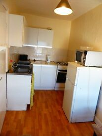 Nice clean bright compact one bed flat separate Kitchen and lounge.