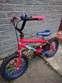 """Spiderman bicycle 12"""""""