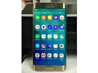 Samsung Galaxy S6 Edge Plus 64GB GOLD -Unlocked SIM Free Smartphone EXCELLENT CONDITION Mobile Phone