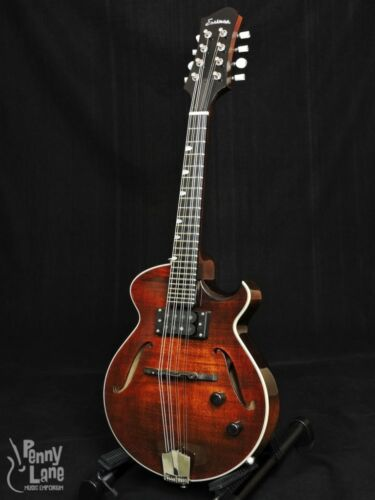 EASTMAN ER-M EL RAY CHAMBERD ELECTRIC MANDOLIN WITH CASE