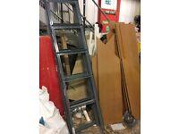 Storage rack ideal for garage or storage unit