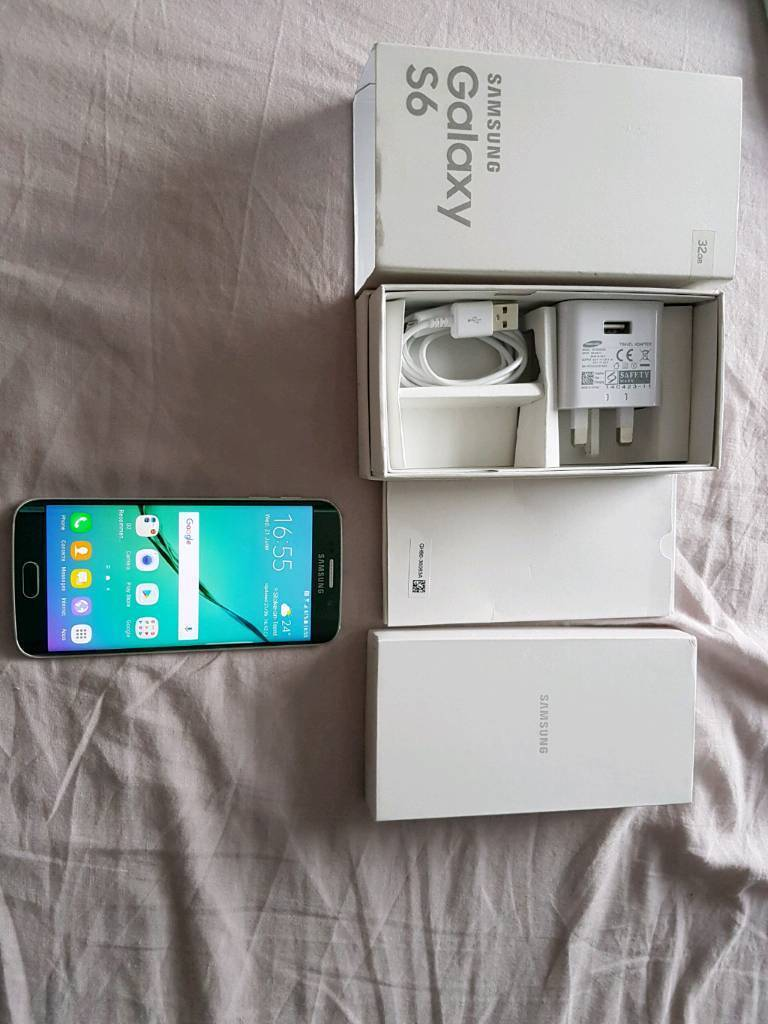 Samsung Galaxy S6 Edge, with charger and Galaxy S6 boxin Stoke on Trent, StaffordshireGumtree - Samsung Galaxy S6 Edge, with charger and galaxy S6 box.Excellent conditionO2/giffgaff/tesco networks£180. No offers. No swapsBest price £180Last price £180Final price £180Lowest you would take £180Can come collect right now for cash £180