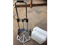 Water carrier with trolley