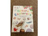 Childrens nature explorer book set - gifts- BRAND NEW