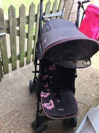 Silver cross butterfly stroller