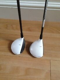 Taylormade R11s 3 and 5 Woods