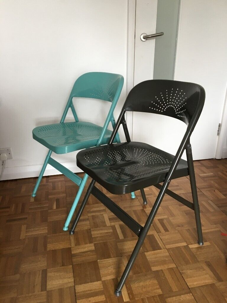 Astonishing Set Of 4 Ikea Frode Folding Chairs In Forest Hill London Gumtree Lamtechconsult Wood Chair Design Ideas Lamtechconsultcom