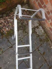 4m (3.25m) Aluminium Roof Ladder
