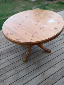 Pine Dining Table (Ducal)