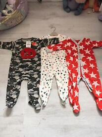 BRAND NEW NEXT SLEEPSUITS!