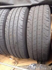 205/65R16C Tyres with 7mm tread