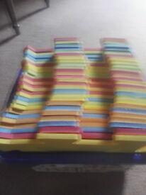 Play mats.