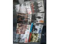 Collectible History of World War 2 magazines.