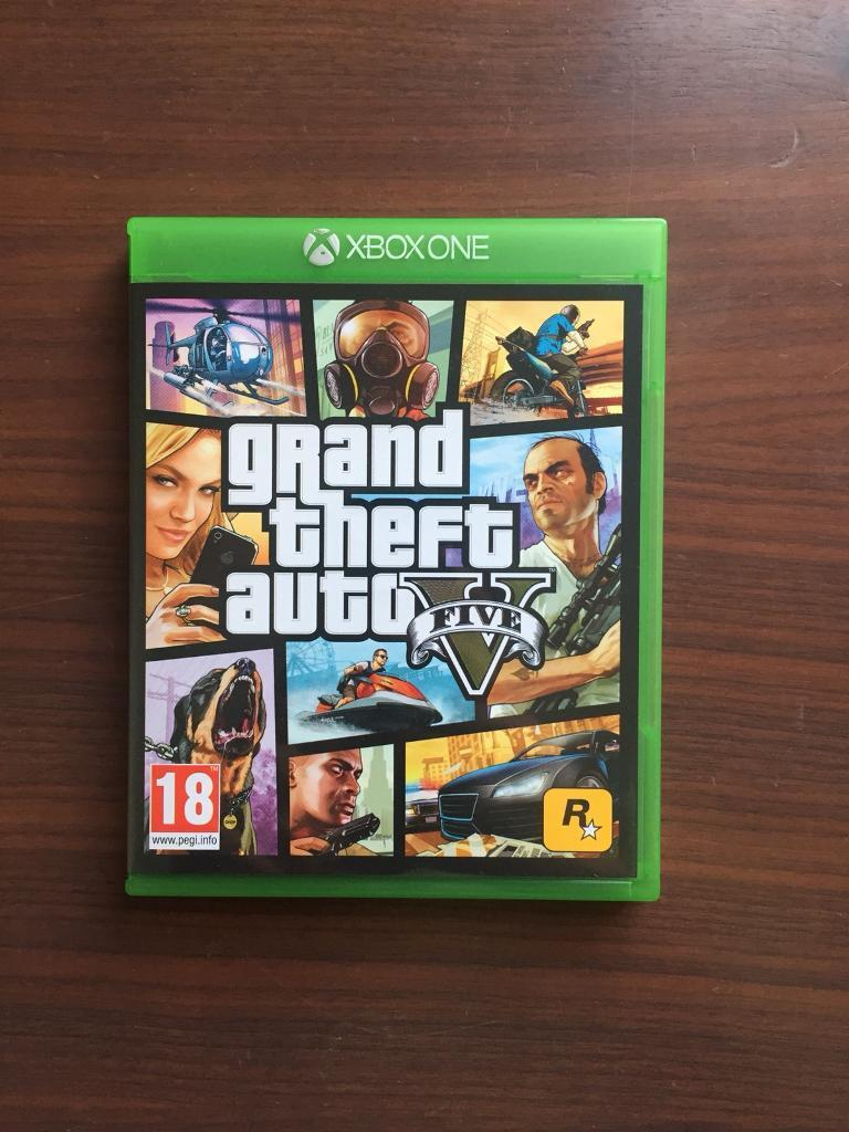 Brand New GTA 5 with £1M in game points XBOX ONE