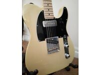 American Special Telecaster in blonde modded with Lindy Fralin P90 and Lindy Fralin Blues Special.
