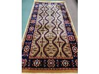 Golden colour Bukhara rug