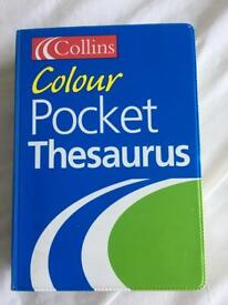 Collins Colour Pocket Thesaurus