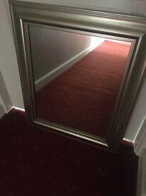 Framed Mirror 51x63cm