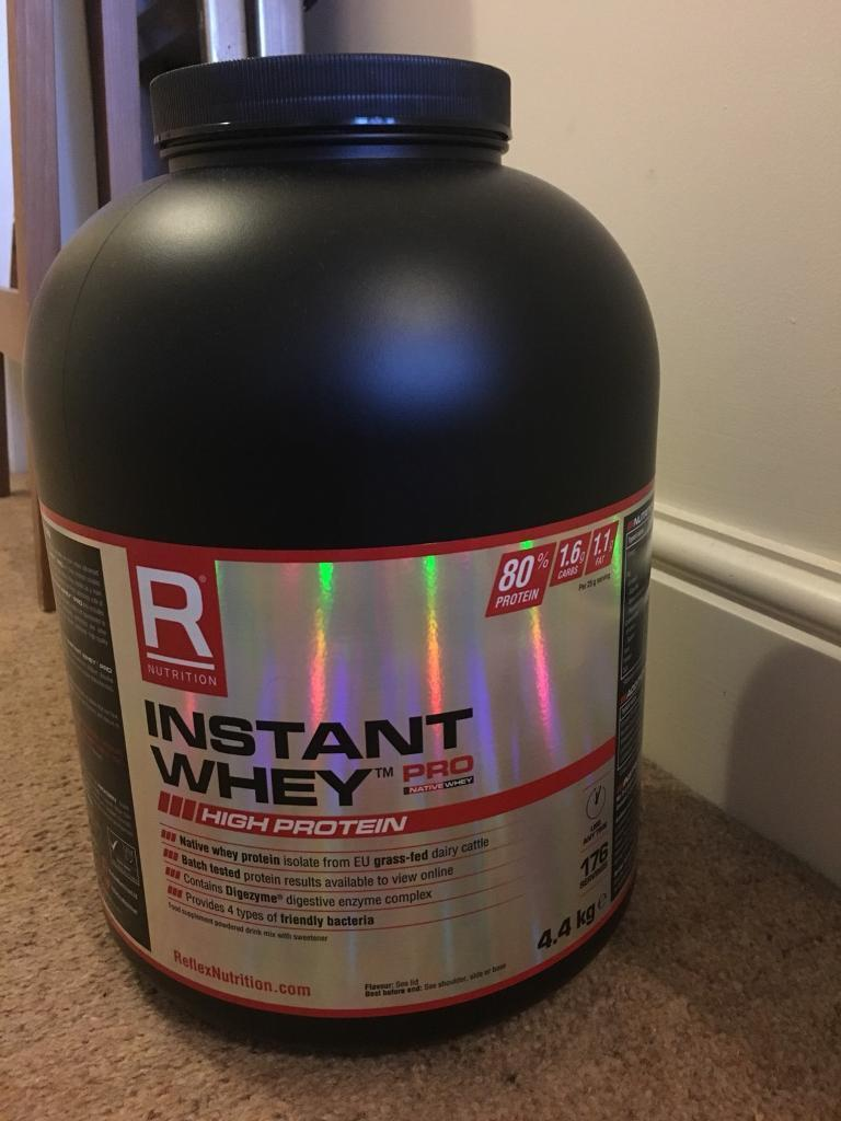 4.4kg Relflex Nutrition Instant Whey Protein RRP £75.95