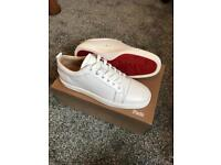 Christian Louboutin Louis Junior Leather Trainers - Size 9