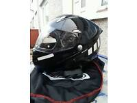 Motorbike Helmet flip front Medium