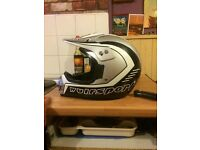 Wulf motorcross helmet, large