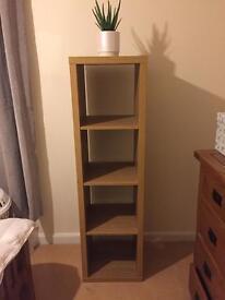 Ikea oak effect box shelves
