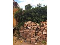 Old Stock Red Bricks -