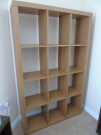 Brown Storage Unit 12 hole can be used as room divider