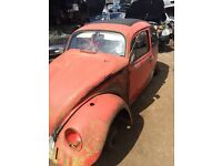 1971 Beetle Project
