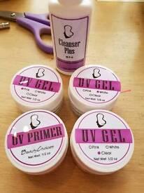 Uv gel and kit