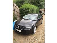 AUDI A3 - 2.0 TDI - METALLIC BLACK - GREAT CONDITION - (not bmw, volkswagen, mercedes, gti, corsa)